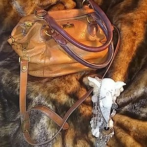 Genuine Leather Hobo Bag